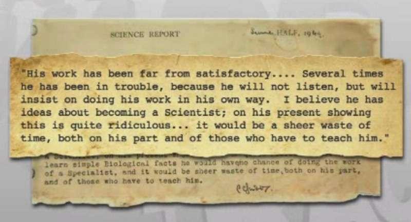 john-science-report-card